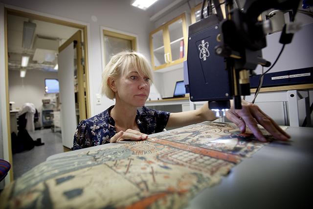 Ingalill Nyström, kulturvård, Geovetarcentrum, Göteborgs Universitet.